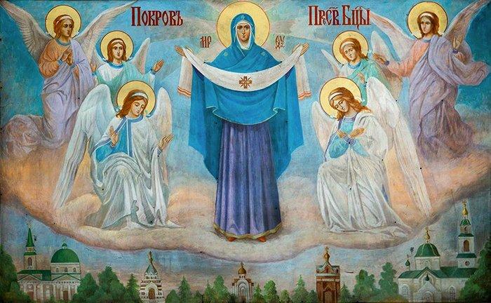 Праздник Покрова: «Пресвятая Богородица, спаси землю русскую»